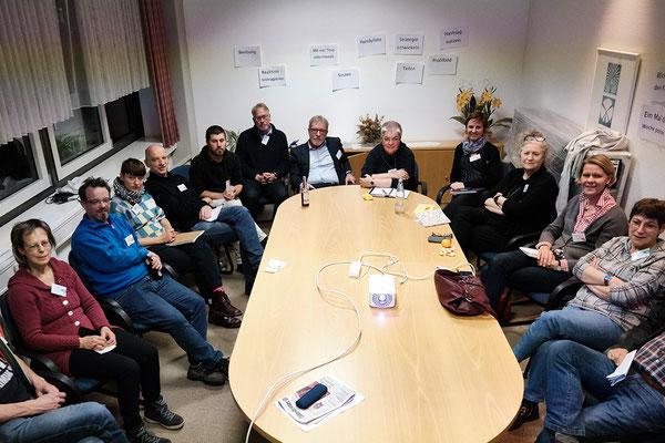 """Kulturtreff """"Unter Dampf"""" am 8. November in der Zuckerfabrik Nordstemmen - Kleingruppenarbeit"""