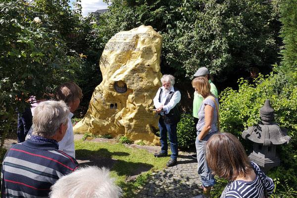 Der Park der Weisheit. 12. Juli 2020 in Barienrode. Foto: Gero Schulze