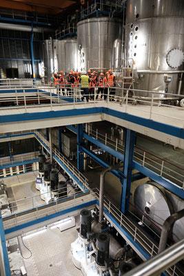 """Kulturtreff """"Unter Dampf"""" am 8. November in der Zuckerfabrik Nordstemmen - Fabrikführung"""