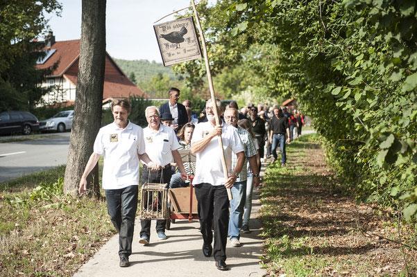 Das Schwarze Huhn. 15./16. September 2018 in Grasdorf. Foto: Daniel Kunzfeld