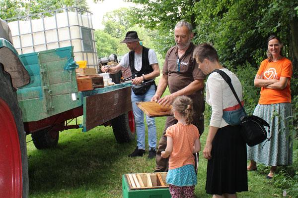 Drumherum und Zwischendurch. 1. August 2020 in Bodenburg. Foto Katrin Morgenroth