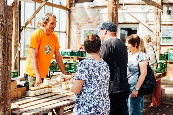 Tomatenfest. 19. August 2018 im Waldgarten Everode. Foto: Daniel Kunzfeld