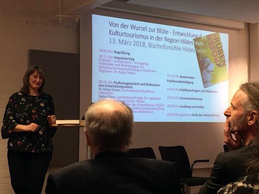 Fachvortrag mit Dr. Katja Drews am 13. März 2018 in der Bischofsmühle Hildesheim