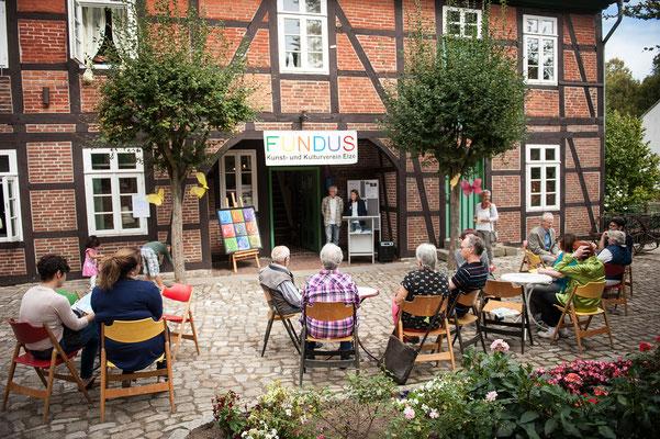Wo Saale und Leine sich küssen. 9. September 2018 im Heimatmuseum Elze. Foto: Daniel Kunzfeld