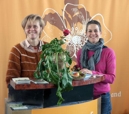 Alix Einfeldt und Sabine Zimmermann bei der INFA 2018