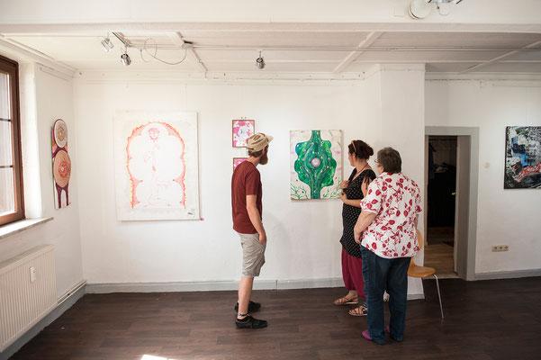 Kultursommer im KuNo. 12. August 2018 im Kunsthaus Nordstemmen. Foto: Daniel Kunzfeld