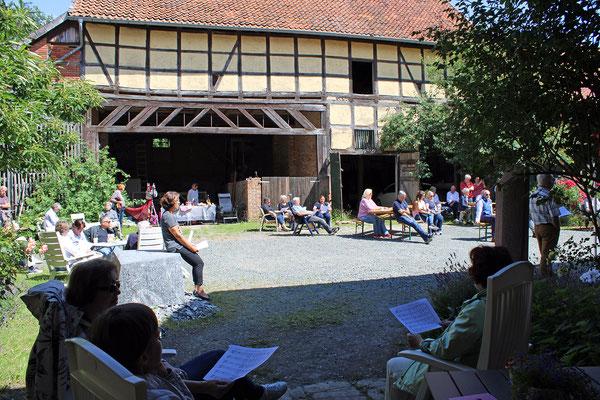 Sommer in Gehrenrode. 11. bis 12. Juli 2020. Foto Katrin Morgenroth