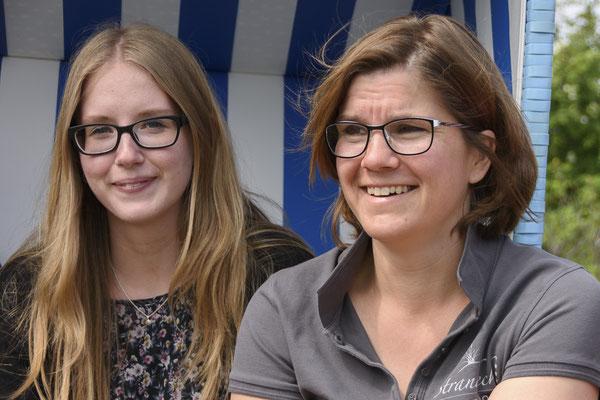 Annika und Maike vom Team