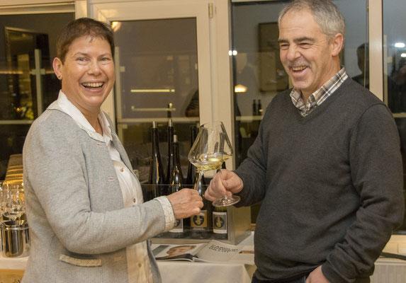 Bio Winzer Familie Hug bei unserem Wein Winter auf Langeoog