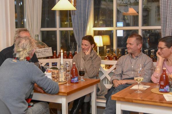 WeinWinter auf Langeoog - unser WeinSchnitzeljagd