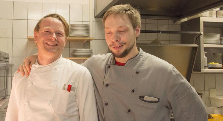 Unser Lukas und Jan unsere Köche