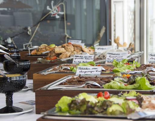 Ostfriesisches Schlemmerbuffet im Bio Restaurant Seekrug auf Langeoog