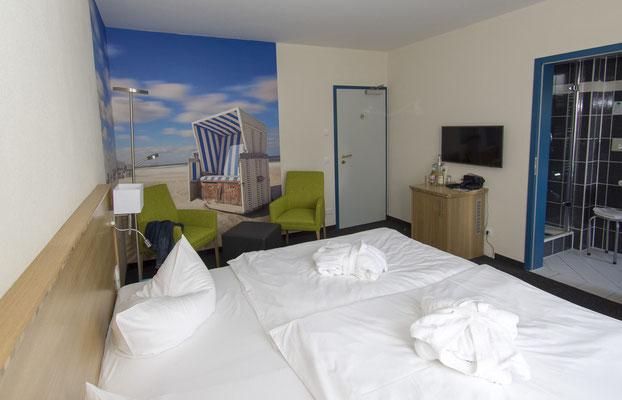 Strand Bio Doppelzimmer