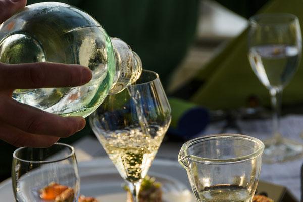 Sherry Abend beim 4. WeinWinter auf Langeoog