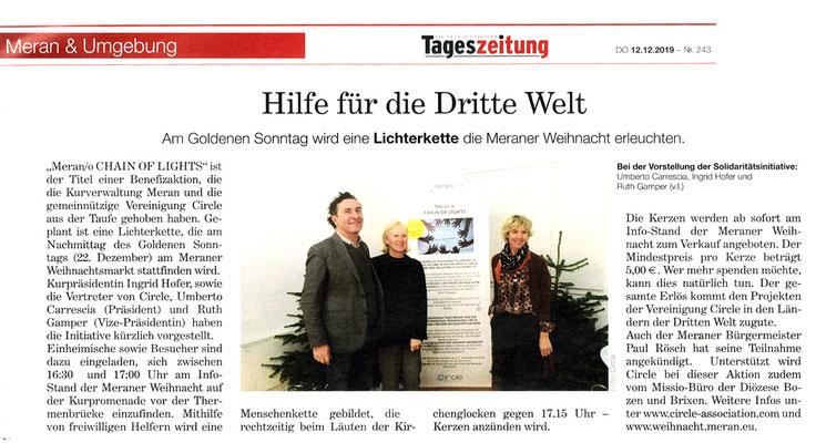 Die Neue Südtiroler Tageszeitung 12/2019