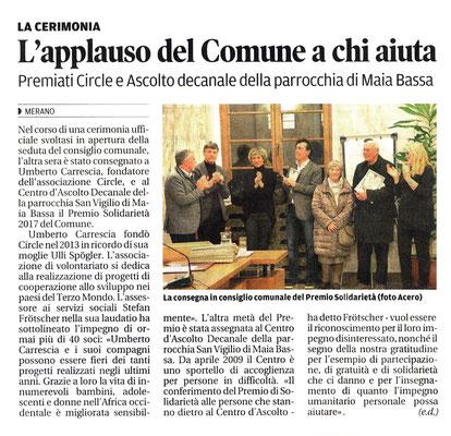 Alto Adige 01/2018