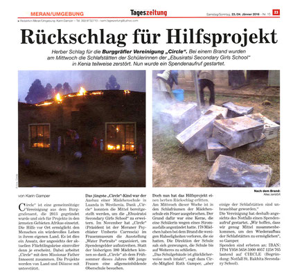 Die neue Südtiroler Tageszeitung 01/2016