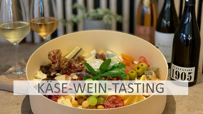 Käse- Wein-Tasting-Boxen