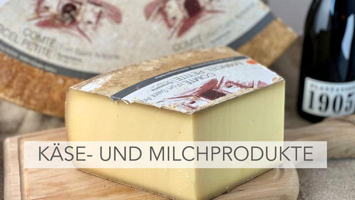 Käse- und Milchprodukte
