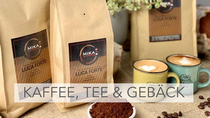 Kaffee, Tee & Gebäck