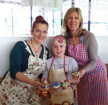 Cupcake-Workshop bei Cakeline - Andrea Dreger - in Hart bei Graz