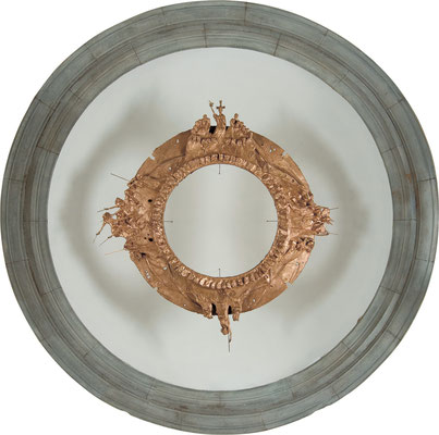 The Apocalypse / bronze / ø230cm / 2007-10 / Santa Croce Church [Vinci, Tuscany] 黙示録 / ブロンズ / サンタ・クローチェ教会 [トスカーナ州ヴィンチ村]
