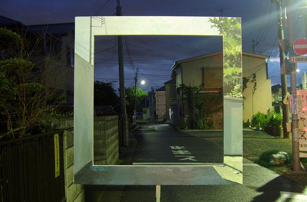 Long distance / acrylic on wood / 2005