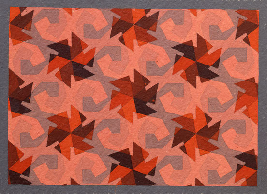STUDY 407 / tempera / 16.5×22.2cm / 1937