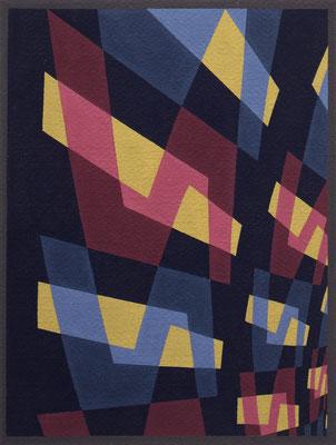 OPUS 12 / tempera / 38.4×29.2cm / 1952