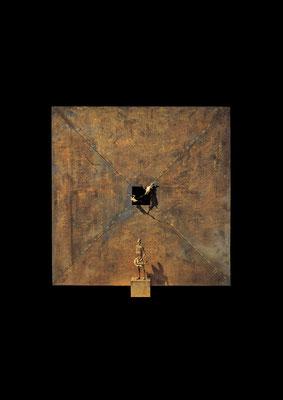 Colloquium / bronze / 127×120×25cm / 1988-89 / The Museum of Modern Art[Toyama] 対話 / ブロンズ / 富山県立近代美術館