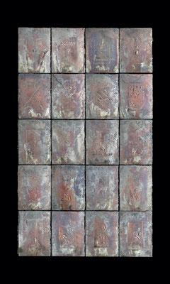 Sequence / bronze / 各51x37cm [each] / 2000-01 / Miyazaki Prefectural Art Museum 連続 / ブロンズ / 宮崎県立美術館