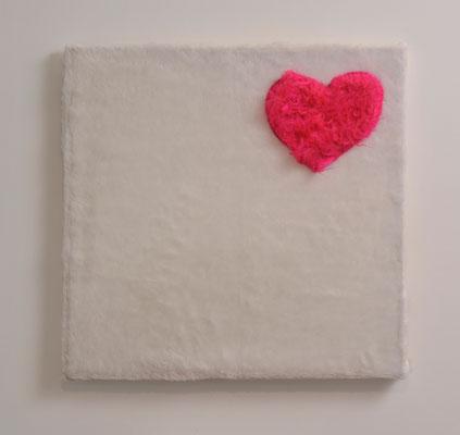Heart / plush / 60 x 60 cm / 2003