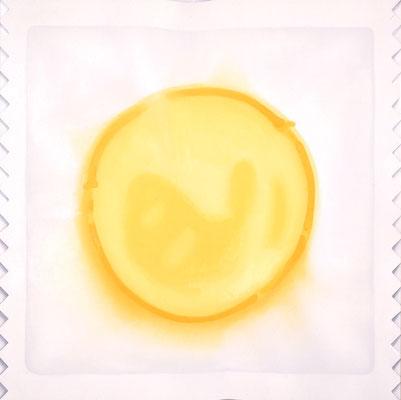 Package / oil on canvas / 162.0×162.0cm / 2006 「パッケージ」キャンバスに油彩