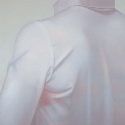 Blouse / oil on canvas / 130.3×130.3cm / 2007 「ブラウス」キャンバスに油彩