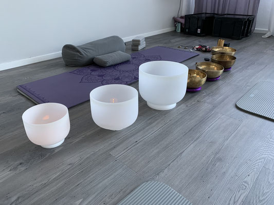 Yoga Weinstadt Endersbach Klangschale
