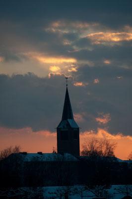 der berühmte Dorstener Sonnenuntergang!