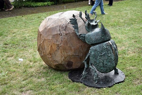 Die Skulptur von Sonja Knapp wusste zu gefallen.