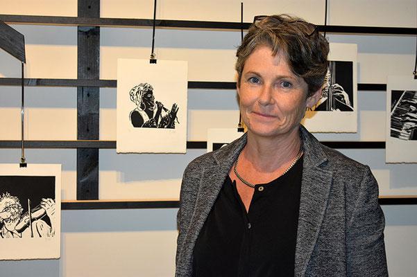 Barbara Dürr zeigte ihr kreatives Schaffen im Atelier Bolt