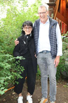 Sonja Knapp und Peppi Davatz.