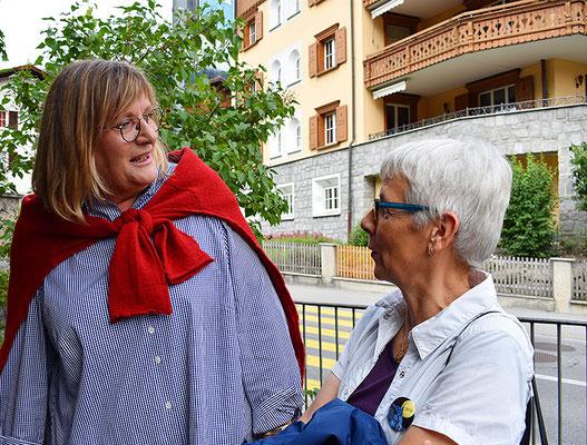 Brigitte Davatz und Anna Blaser