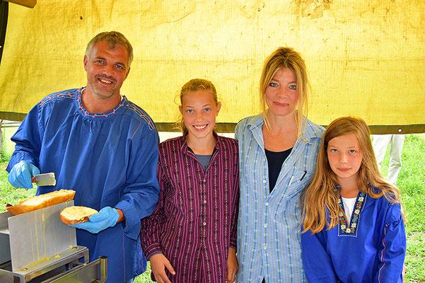 Das Raclette von Nicole und Georg Florin wurde allseits gelobt