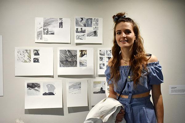 Laura Meier zeigte im Atelier Bolt ihr grandioses Schaffen.