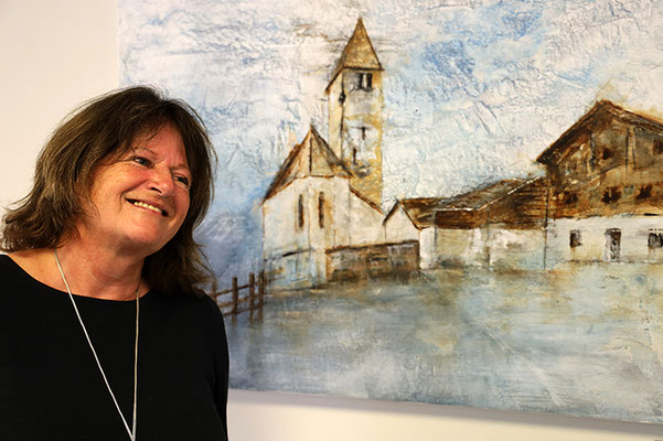 Sehenswerte Austellung von Susanna Lüthi im Kirchgemeindehaus.