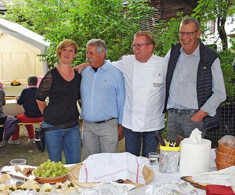 Für das Kulinarische im Hewen Garten war Jos Vom Alpenrösli verantwortlich.