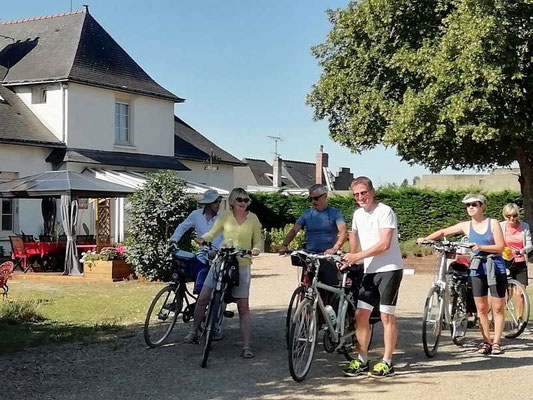 depart vers chateau gontier