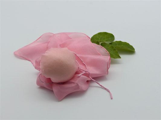 pflanzengefärbter Schal-ROSALIND