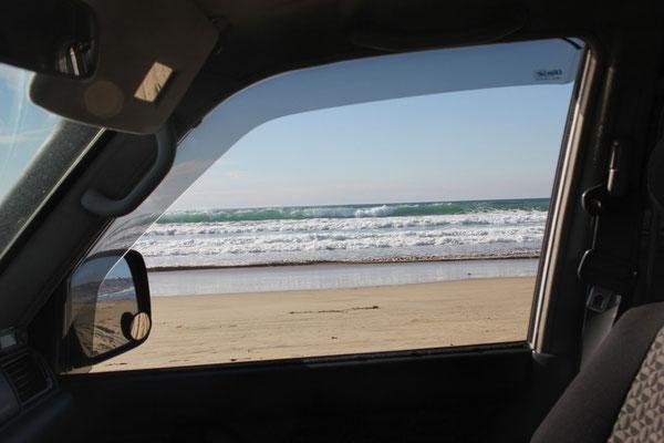 Am Pismo Beach kann man direkt am Strand fahren...