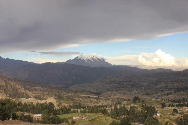 Traumhafte Aussicht direkt neben La Paz.