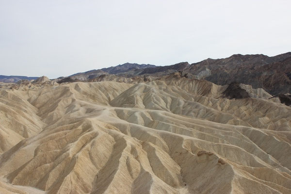 Aussicht vom Zabriskie Point