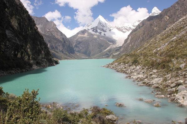 Die Laguna Parón.